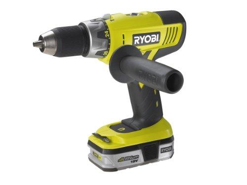 Ryobi LCDI18022B 18V Hammer Drill with 2x1.4Ah Li-Ion Batteries