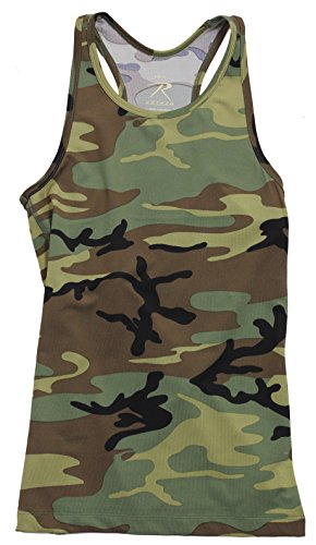 Rothco Womens Camo Workout Performance Tank Top (Camo Shirt And Pants compare prices)