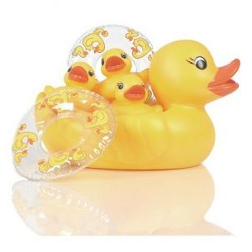 Elegant Baby Bath Toy Set - Duck