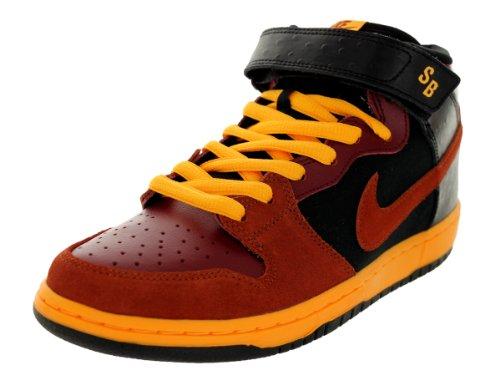 Nike Dunk Mid Pro Sb - Team Red / Orange-Black-Laser Orange, 11 D Us