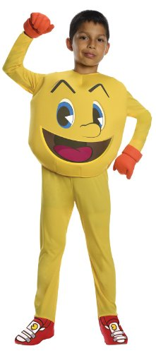 Pac-Man And The Ghostly Adventures Deluxe Pac-Man Costume, Large front-1045927