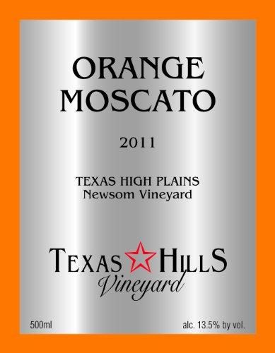 Texas Hills Vineyard 2011  Orange Moscato 500 mL