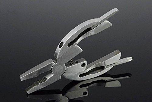 Silver Mini Multi Tool Poket Folding Knife Jkc-3.26''