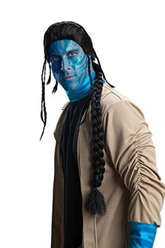 Avatar Jake Sully Adult Wig Halloween Costume - Most Adults