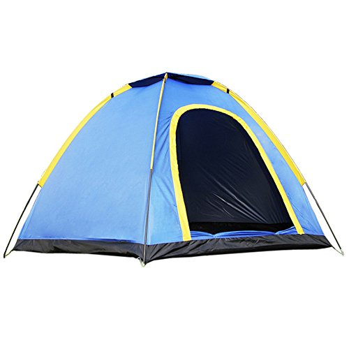Ezyoutdoor 3 Person Hexagonal Waterproof Camping Tent Hideaway Camo Backpacking Camping Tent with Carry Storage Bag (Napier Backroadz Truck Tent compare prices)