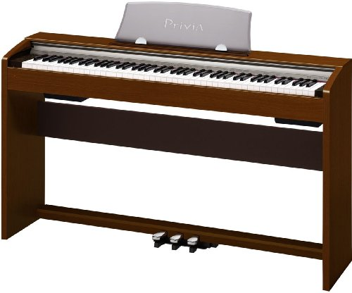 Casio PX-730CHC5 Integrated Piano Stand and High-Quality Metal 3-Pedal Unit