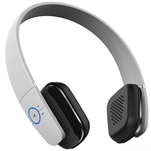 voix blu stereo bluetooth kopfh rer nfc wireless on ear kopfh rer headset integriertes. Black Bedroom Furniture Sets. Home Design Ideas