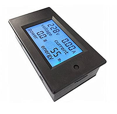 Voltage Meter / Tester (AC 80-260V/100A). Volt Amp meter or Multifunction meter Power / Energy tester with Current Transformer