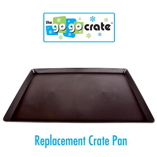 GoGo Plastic Dog Crate Replacement Pan/Tray, 42-Inch (Kennel Pan compare prices)