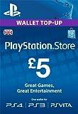 PSN CARD 5 GBP WALLET TOP UP [PS4, PS3, PS Vita PSN Code - UK account]