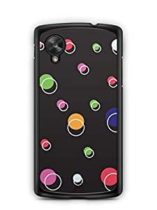 YuBingo Rounds & Circles Pattern Designer Mobile Case Back Cover for Google Nexus 5