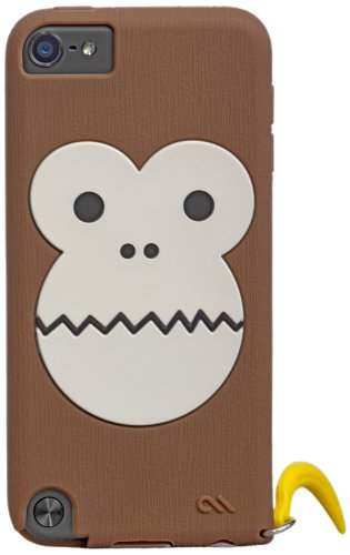 Case-Mate 日本正規品 iPod touch 5th CREATURES: Bubbles Monkey Case, Brown クリーチャーズ: バブルス モンキー シリコン ケース, ブラウン CM024558