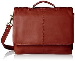 Visconti Visconti Leather Business Case Bag, Briefcase, Handbag Medium, Brown, One Size