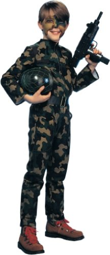 [Child's G.I. Soldier Costume, Medium] (Army Men Halloween Costumes)