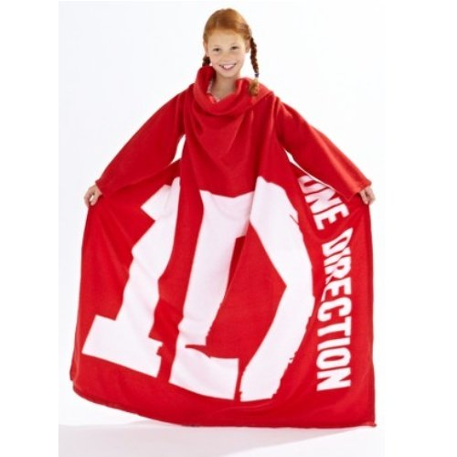 One Direction Sleeved Fleece blanket snuggle wrap