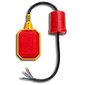 Float Switch w / 10 ft. (3 Meter) Cable, Water Tank, Sump Pump (5 Year Warranty)