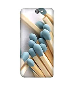 Matchsticks Printed Back Cover Case For HTC One A9