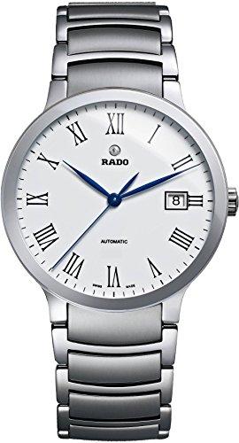 Rado 658.0939.3.001 - Mouvement Automatique - Affichage Analogique - Montre à bracelet Acier inoxydable Multicolore et Cadran Argent - Mixte