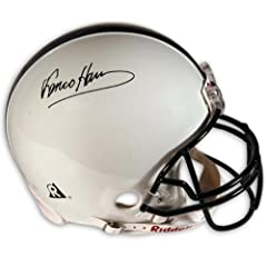 Franco Harris Penn State Nittany Lions Autographed Riddell Pro-Line Authentic Helmet...