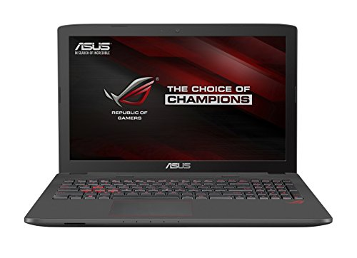 ASUS ROG GL752VW-DH74 17-Inch Gaming Laptop, Discrete GPU GeForce GTX 960M 4 GB VRAM, 16GB DDR4, 1 TB, 128 GB SSD (ROG Metallic)