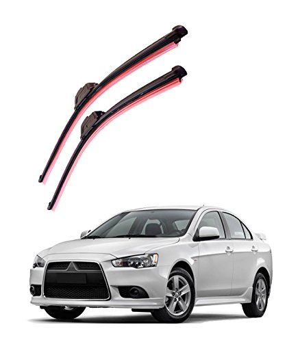 Autofurnish Frameless Silicon Wiper Blades for Mitsubishi Lancer (D)21″ (P)19″