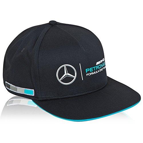 mercedes-amg-petronas-berretto-con-visiera-classico-accessorio-sportivo-da-uomo-edizione-2015-colore