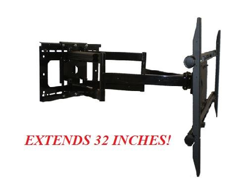 Sony Bravia Kdl-60Ex720 Internet Tv Compatible Full Motion Articulating Tv Wall Mount Bracket **Living Room/ Fireplace/ Game Room** Extends 32 Inches
