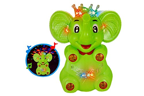 sunshine moving elephant toy with music and lights na rs mrp na