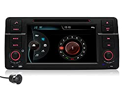 See Pumpkin 7 inch In Dash HD Capacitive Touch Screen Car DVD Player for BMW E46 GPS Navigation Stereo Support Bluetooth/SD/USB/Ipod/FM/AM Radio/DVR/3G/AV-IN/1080P with Rear View Camera as gift Details