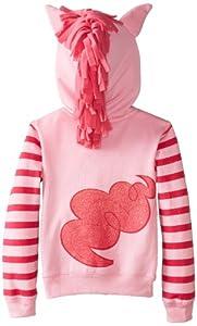 My Little Pony Girls' Pinky Pie Hoodie and Hoodie/Tee Bundle