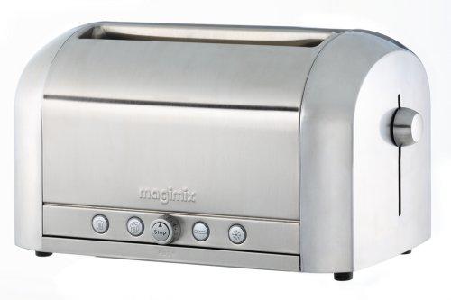 Magimix 4 slice toaster polished
