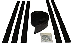 Auto Care Products 54020 20-Feet Garage Door Bottom Seal Kit with Track and Mounting Hardware by Auto Care Products - DROP SHIP