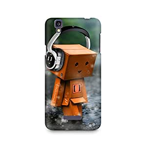 Mobicture Headphones Cute Premium Printed Case For Micromax YU Yureka A05510