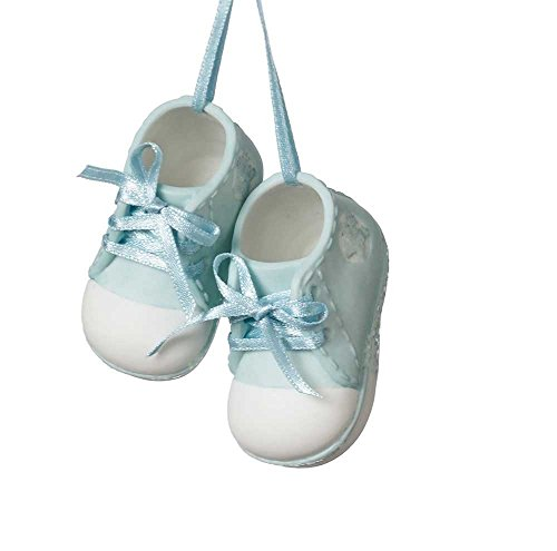 Baby Shoe Ornaments for Christmas Trees - It's Christmas Time