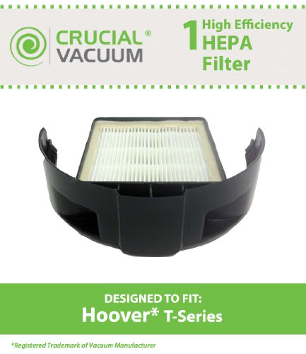 Hoover Windtunnel and Rewind T-Series HEPA Cartridge Filter; Compare to Part # 303172001, 303172002,  902404001; Designed & Engineered by Crucial Vacuum
