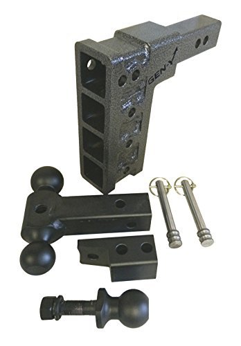 Drop-hitch-Pintle-Hitch-Combo-2-10000-LB-By-GENY-324-2-Solid-Shank-Drop-Hitch-10000-lb-pintle-adjustable-Hitch-tri-Ball-Truck-Receiver-Hitch-dropraise-75