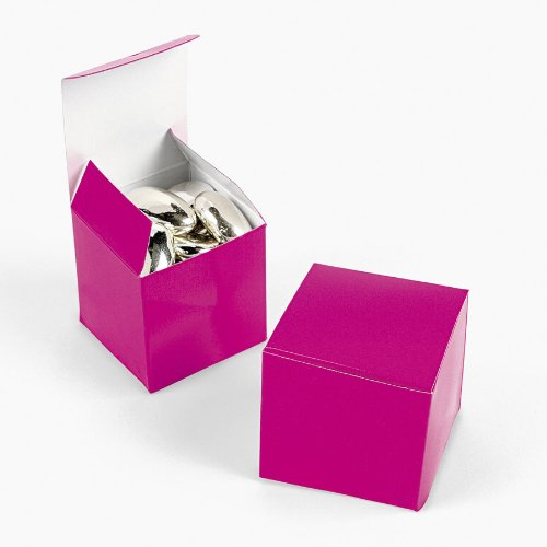 Mini Hot Pink Gift Boxes (2 dz)