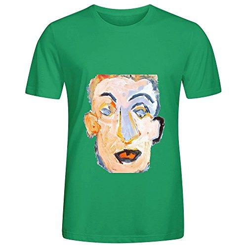 bob-dylan-self-portrait-rock-men-crew-neck-graphic-tee-shirts-green