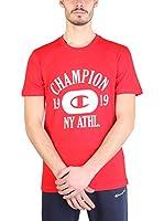 Champion Camiseta Manga Corta (Rojo / Blanco)