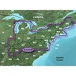 Garmin MapSource Inland Lakes Northeast U.S. Freshwater Map microSD Card