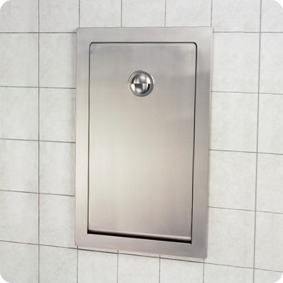 Koala Kare (Kb111-Ssre) - Stainless Steel Vertical Recessed Baby Changing Station front-969267