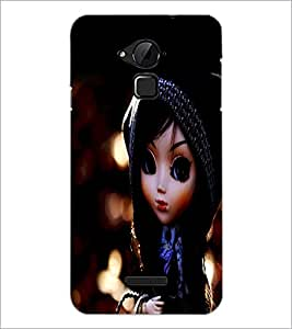 PrintDhaba Cute Doll D-1044 Back Case Cover for COOLPAD NOTE 3 LITE (Multi-Coloured)