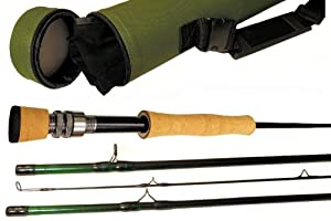 APPALACHIAN FLY ROD, Size 7 8 wt, 4 pc, 9ft, IM-10 Graphite, with machined graphite... by APPALACHIAN