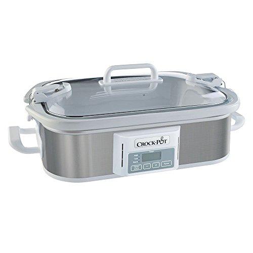Crock-pot® 3.5 Qt Programmable Stoneware Casserole Slow Cooker, Stainless Steel (9 X 13 Casserole Crock Pot compare prices)