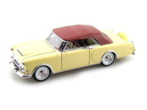 1953 Packard Caribbean Soft Top Cream 1/24 by Welly 24016 by Packard