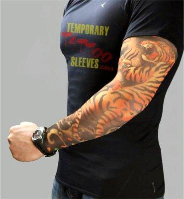 タトゥー ! Tattoo Sleeve タトゥー スリーブ ワイルド 虎 ...