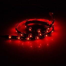 Ch&Ch Strisce luminose LED flessibili 30 - 2 - ( W ) - DC12 - ( V ) - 3528 SMD - Rosso