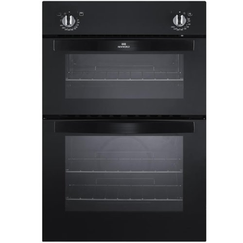 New World NW901DO Built In Double Oven in Black