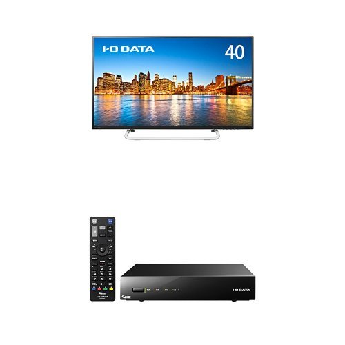 I-O DATA モニター ディスプレイ LCD-M4K401XVB 40型 + I-O DATA テレビチューナー 外付けハードディスク(録画)対応 EX-BCTX2