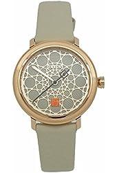 Bulova LadiesÕ Frank Lloyd Wright Leather Strap Watch, 98L216
